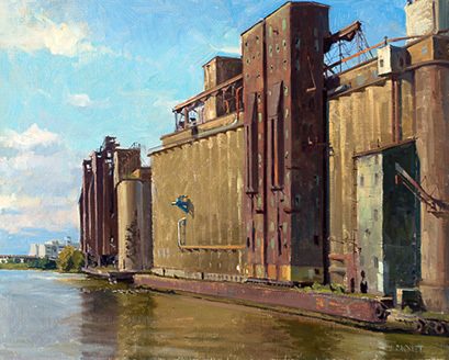 Lake-and-Rail-Elevator-24x30